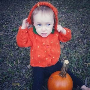 🎃 Pumpkin Sweater Set
